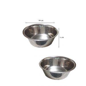 ظرف آب و غذا استیل